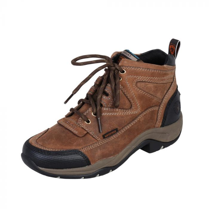 Mens Boots - Ariat Mens Dura Terrain H2O - Distressed Brown
