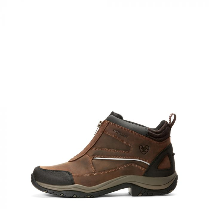 Ariat Mens Telluride Zip H2O Boot - Copper