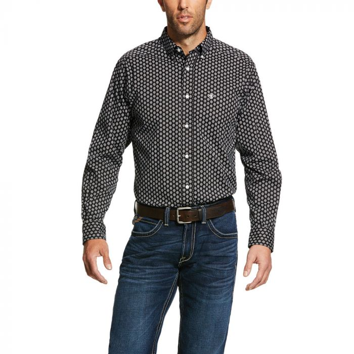 Ariat Men's Kazings Print Stretch Fitted Shirt