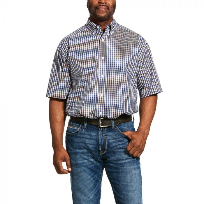 Ariat Men's Prattville C/Fit S/Sleeve Shirt - zm