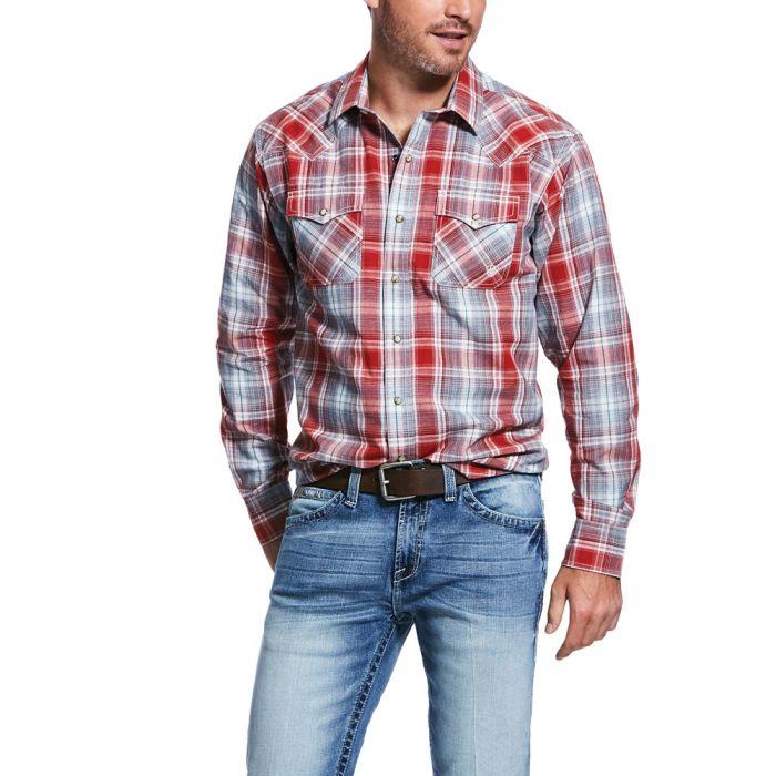 Ariat Men's Queslor Retro L/S Snap Shirt