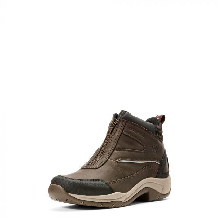 Ariat Womens Telluride Zip H2O Boot - Dark Brown - Front