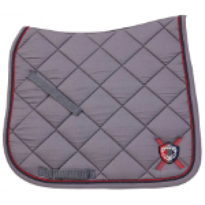 Monarch Dressage Saddlecloth - Grey
