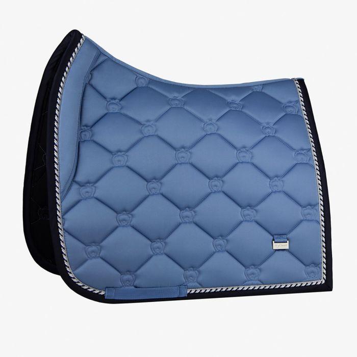 PSOS Monogram Dressage Saddle Pad - Light Blue - Cob