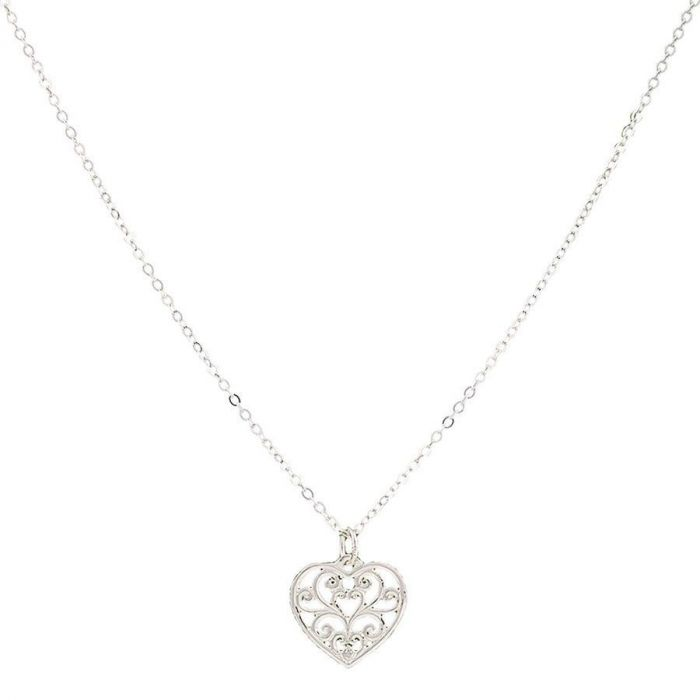 Montana Petite Hearts Flame Necklace