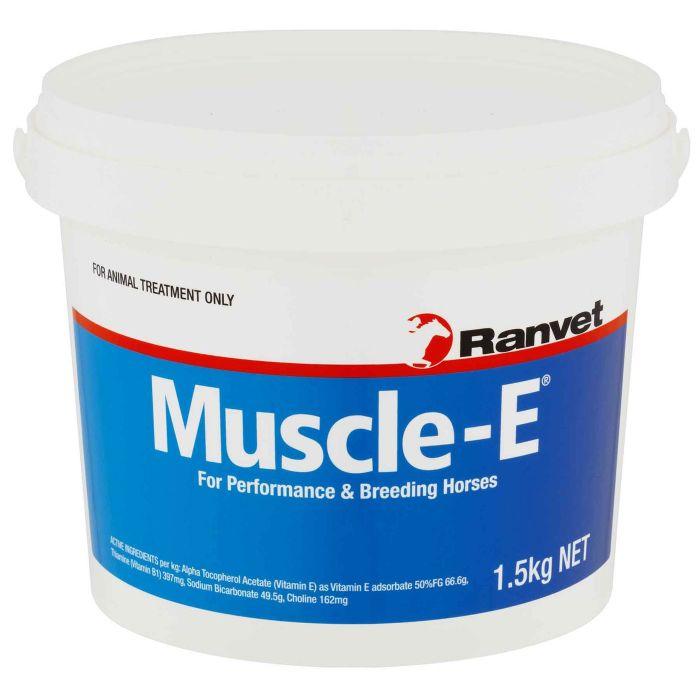 Ranvet Muscle E for horses 1.5kg