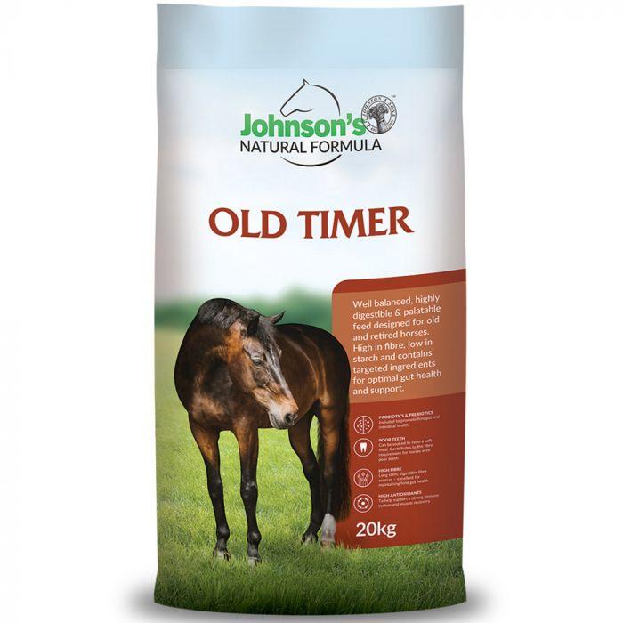 Johnsons Natural Formula - Old Timer 20kg