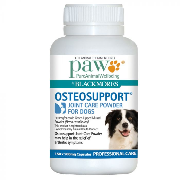 PAW Osteosupport for Dogs - 150 Capsules