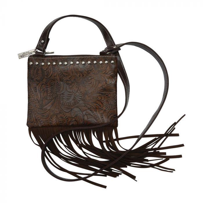 Pure Western Womens Leah Fringe Bag