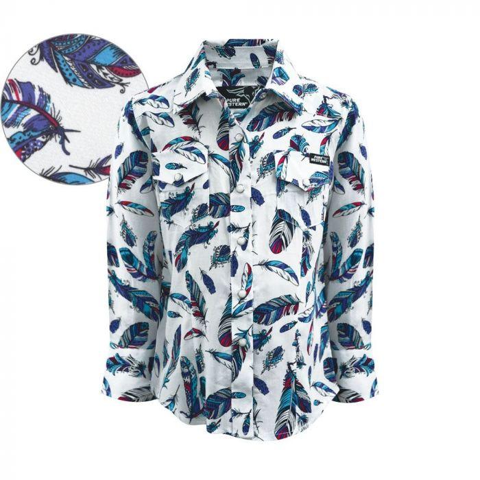 Pure Western Girls Madelyn Shirt