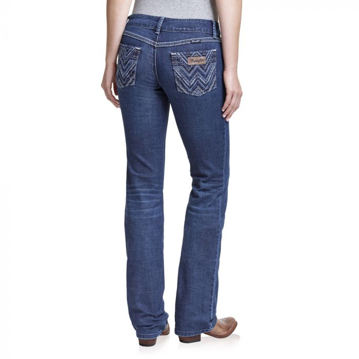 Wrangler Womens Low Rise Boot Cut Jean - Pacos