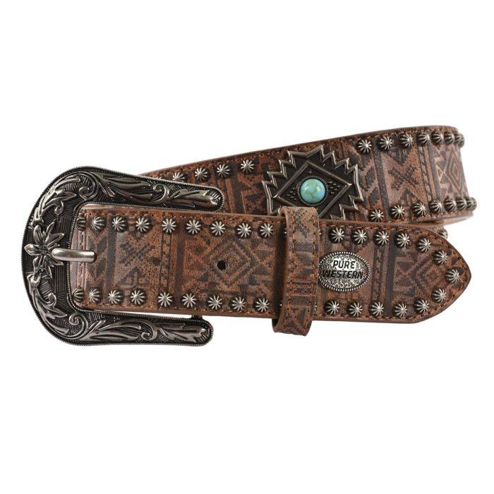 Pure Western Ladies Penny Belt