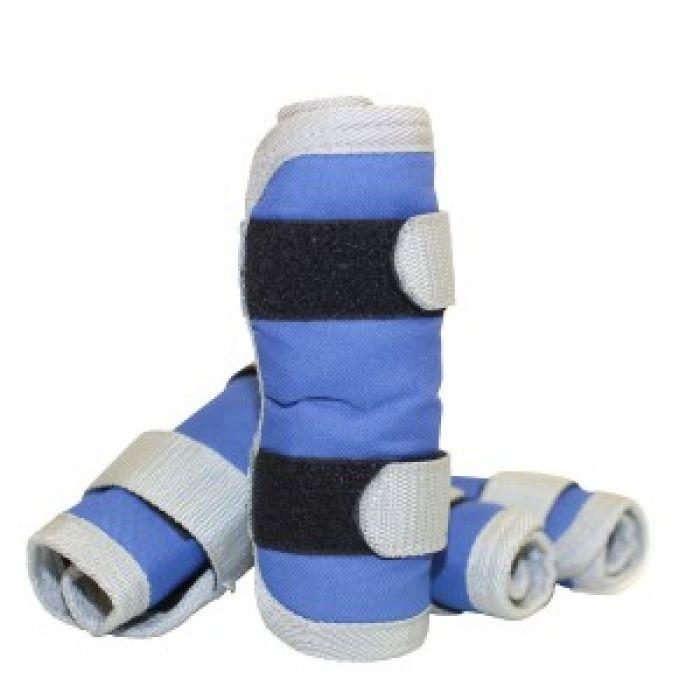 Piccolo Mini Horse Shipping Boots - Blue