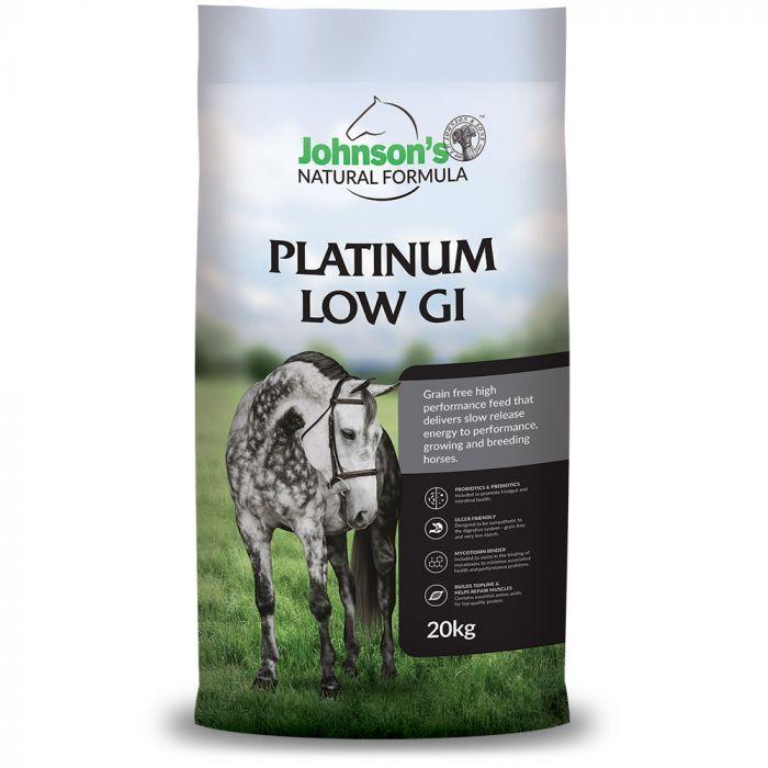 Platinum Low GI 20kg - Johnsons