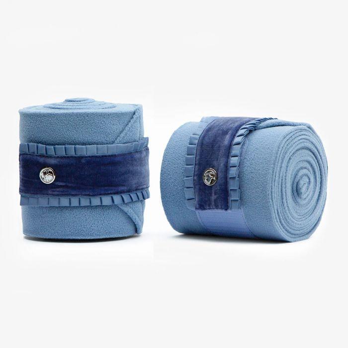PSOS Polo Bandages Ruffle - Light Blue