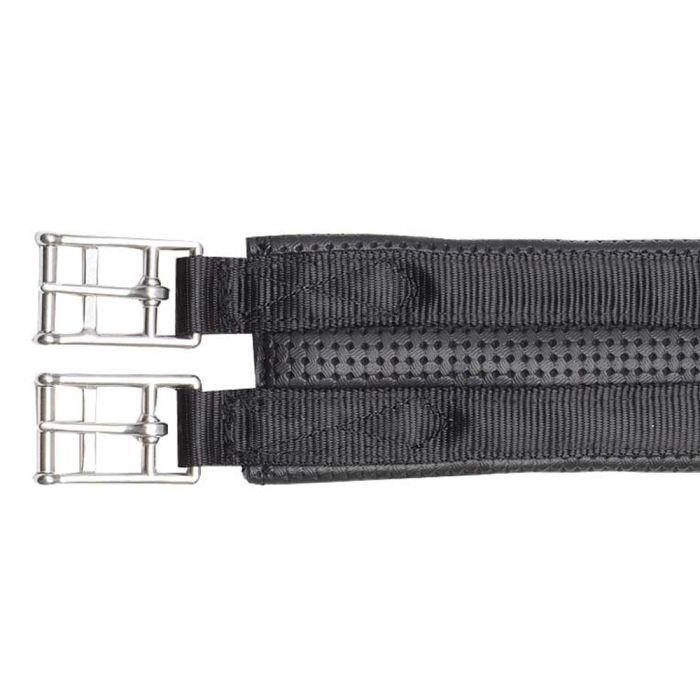 Girth - PVC Plain 2 Buckle - Black