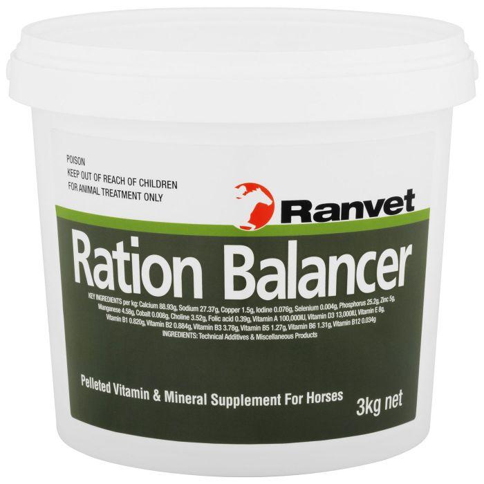 Ranvet Ration Balancer Pellet - 3kg