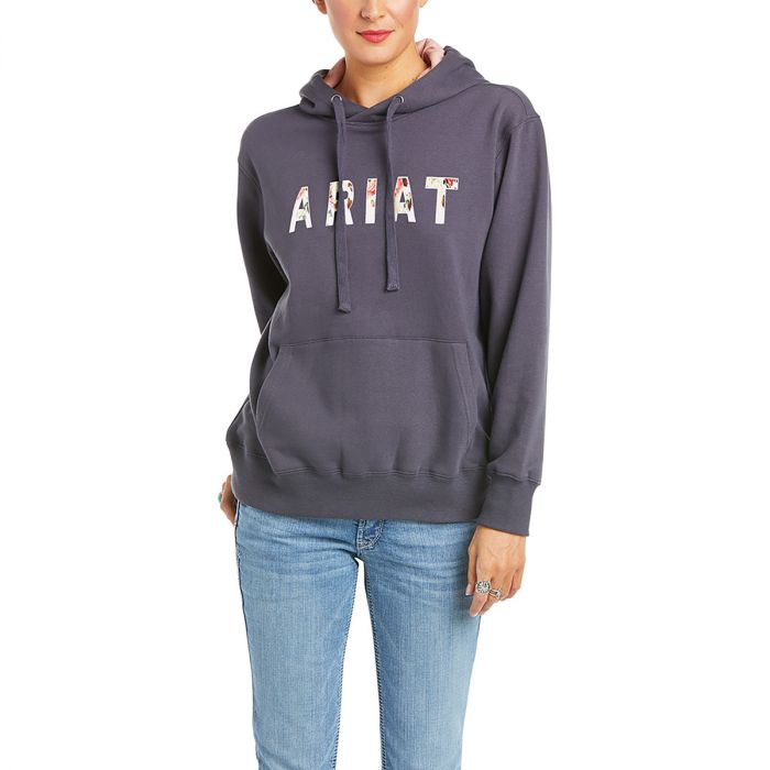 ARIAT REAL Floral Hoodie - Periscope