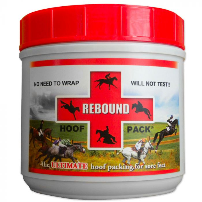 The ultimate hoof packing for sore feet