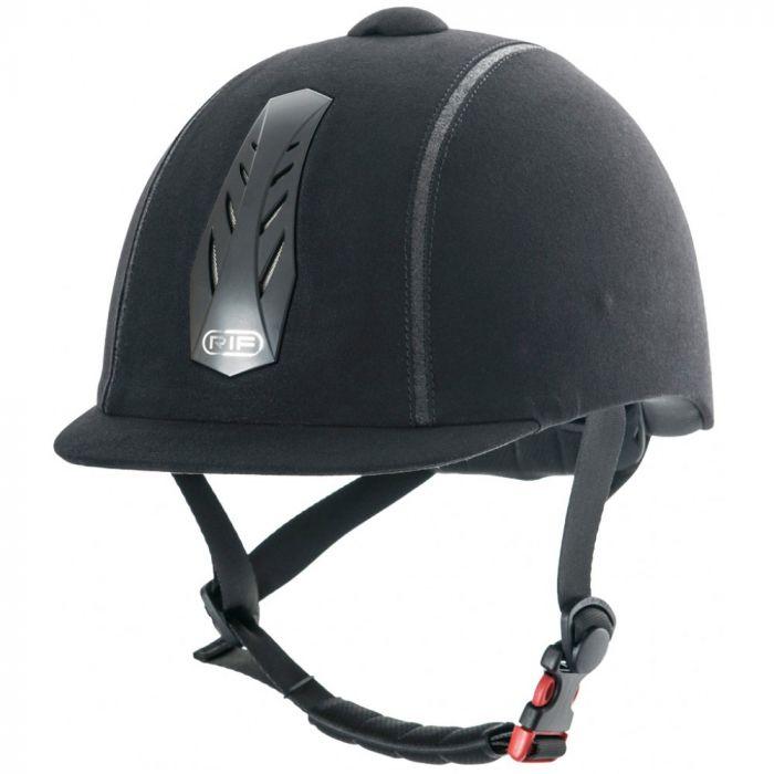 RIF Elite Riding Helmet - Black