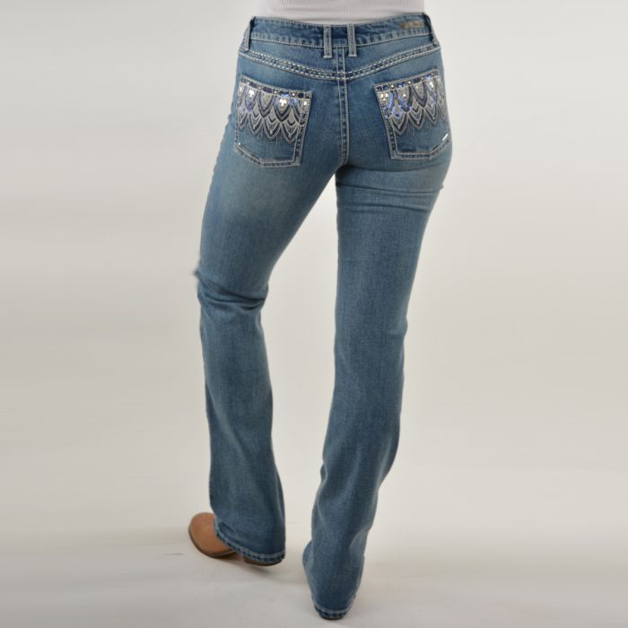 ROCK 47 by Wrangler Jerry Boot Cut Jeans - X1S2247588 - Moonshine