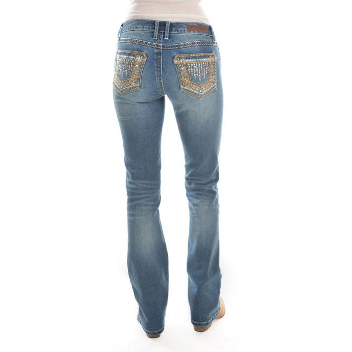 ROCK 47 by Wrangler Boot Cut Jeans - True Blue