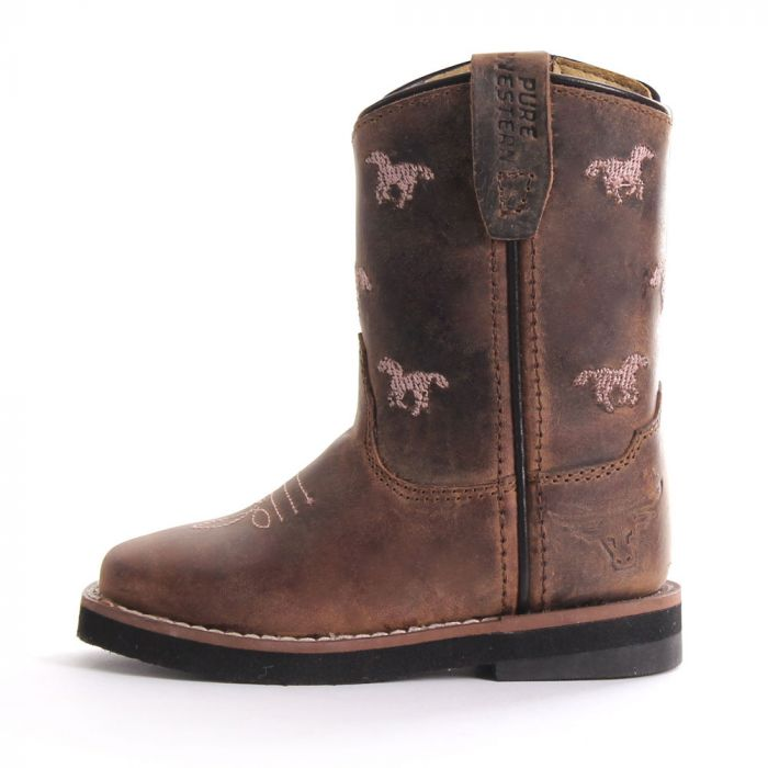 Pure Western Selina Toddler Boot -Side