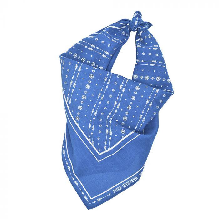Pure Western Bandana - Shannen - Blue
