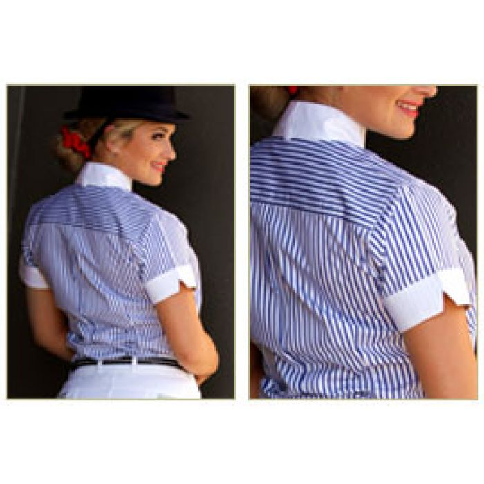 Peter Williams Short Sleeve Show Shirt - Ladies