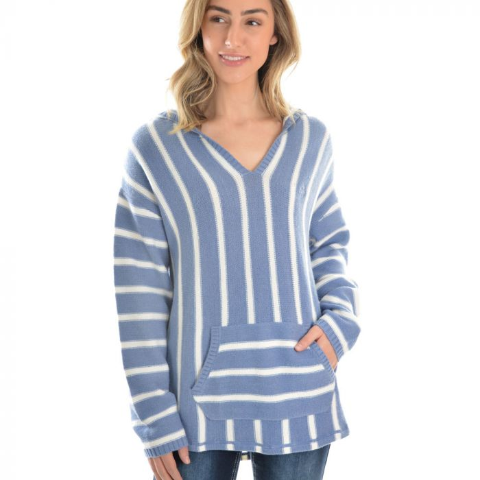 Pure Western Womens Skye Stripe Pullover