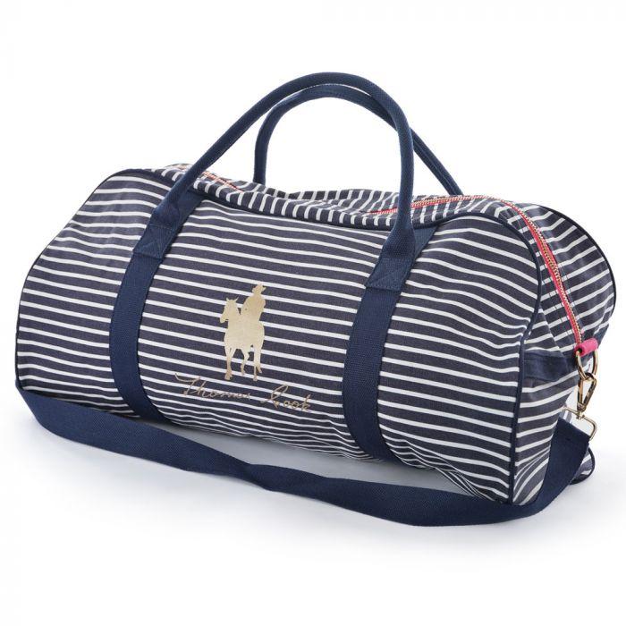 Thomas Cook Strip Zip Logo Duffle Bag - Navy
