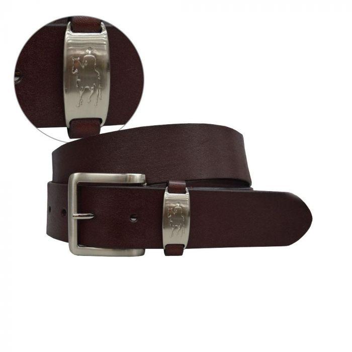 Thomas Cook Mens Horseman Badge Belt