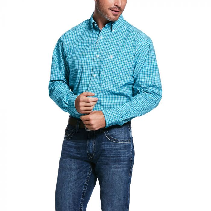 Ariat Men's Pro Series Vernell Fitted L/S Sleeve Shirt