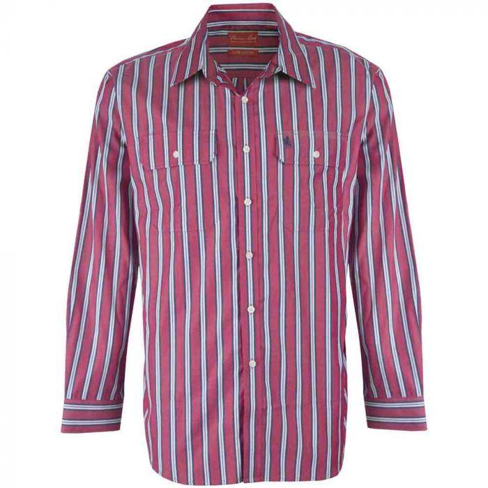Thomas Cook Weipa Long Sleeve Striped Shirt