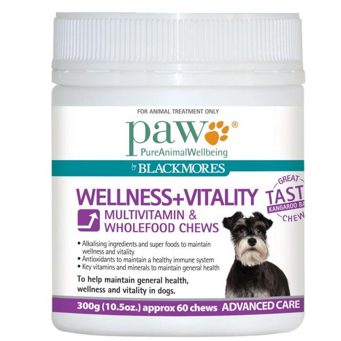 PAW Wellness + Vitality Chew 300g