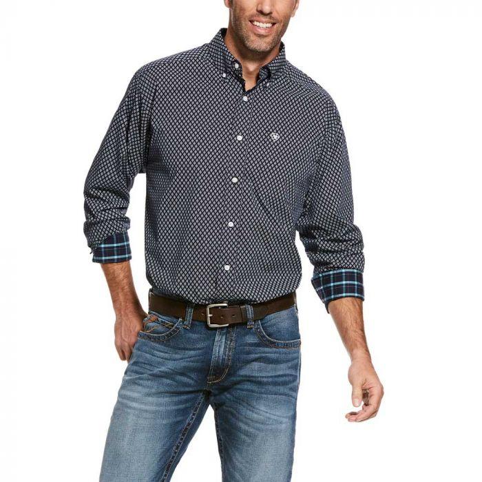 Ariat Men's Wrinkle Free Shirt - Walbeck