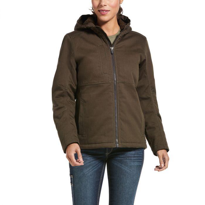 Ariat Womens REBAR Duracanvas Insulated Jacket - Wren - Sz XS & XL Only