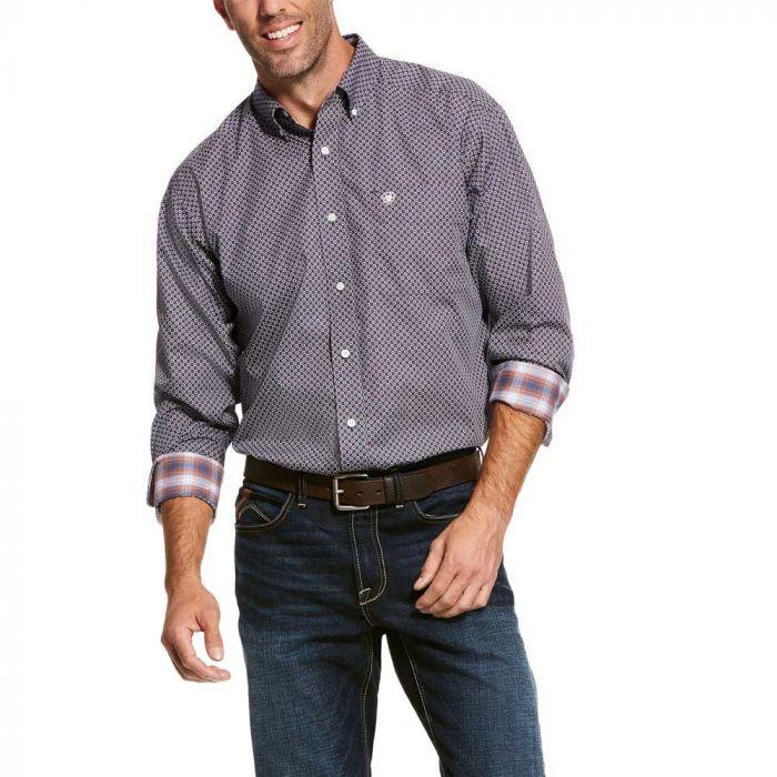 Ariat Men's Wrinkle Free Shirt - Valker