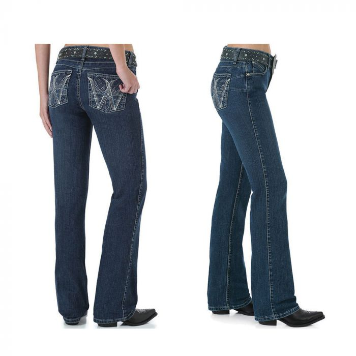 Wrangler Womens Ultimate Riding Jean - Q Baby Booty Up - WRQ25WI34