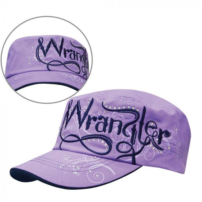Wrangler Womens Isa Cap -  Purple