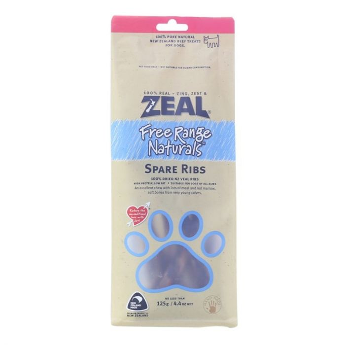 Zeal Spare Ribs - 125g